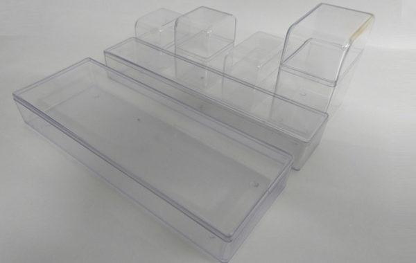 Caixas Plásticas Transparentes