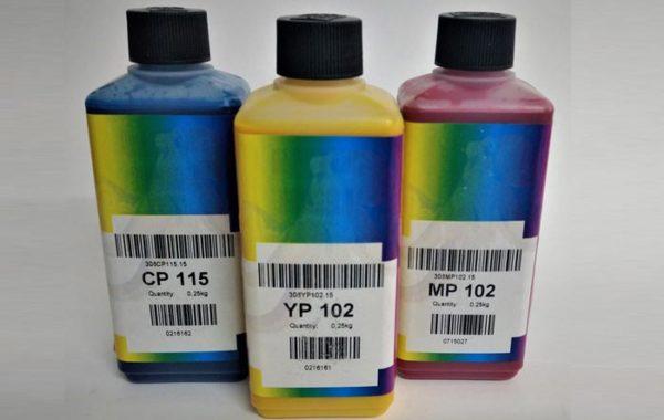 Tintas Coloridas Pigmentadas